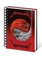 Pyramid International A5 Defter Metallica Yin And Yang SR71819 Renkli